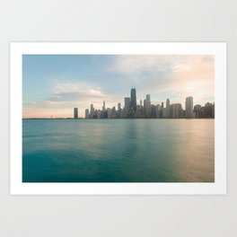 Tonight -Chicago Skyline Photography Art Print