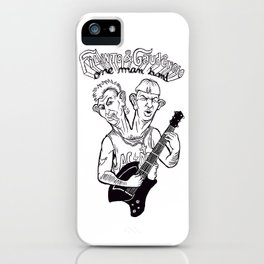 One man band iPhone Case