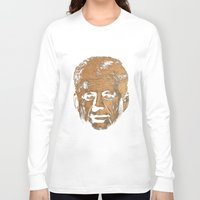 jfk Long Sleeve T-shirts featuring Forever Old | JFK by teokon