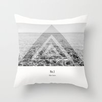 the cure Throw Pillows featuring The Cure  by Kelly Baskin