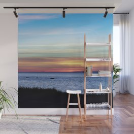 Sunset in the Clouds Wall Mural