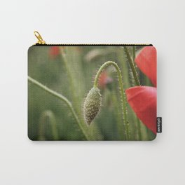 flower photography by Skyla Design Carry-All Pouch