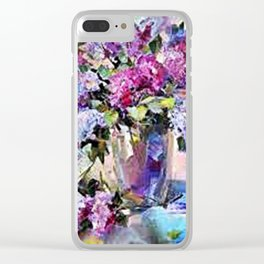 bunch of flower Clear iPhone Case