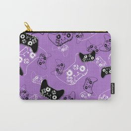 Video Game Lavender Carry-All Pouch