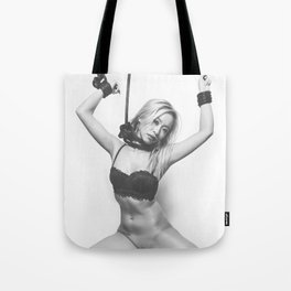 Pretty tied up Tote Bag