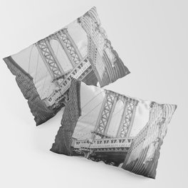 NEW YORK CITY VIII / Brooklyn Bridge Pillow Sham