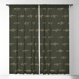 AR15 Pattern Blackout Curtain