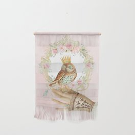 Owl on the hand Wall Hanging