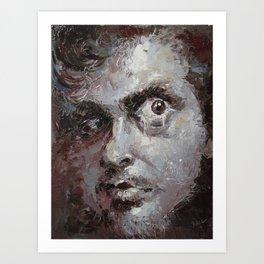 discontented el-terco Art Print