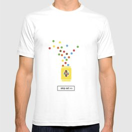 color chocolate ad T-shirt