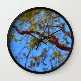The Lilac Tree Wall Clock