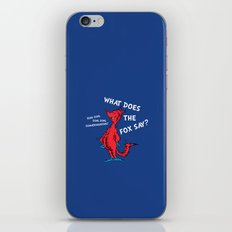 What Does the Fox Say? iPhone & iPod Skin