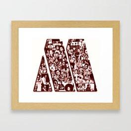 Motown Framed Art Print