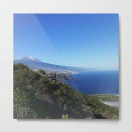 Tenerife/Teneriffa Metal Print