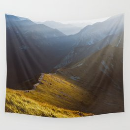 Just go - Landscape and Nature Photography Wall Tapestry
