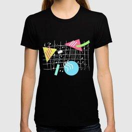 Memphis Style Vibes (Dark) T-shirt