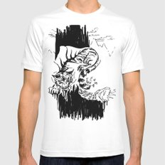 Transformation White Mens Fitted Tee MEDIUM
