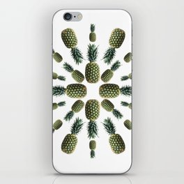 Pineapple Collage iPhone Skin