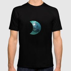 Blue Danube Mens Fitted Tee Black MEDIUM
