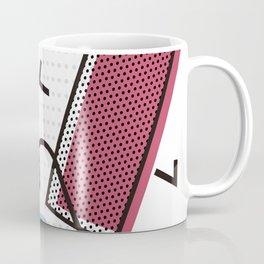 Modernistic abstract shape pattern texture Coffee Mug