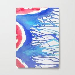 Watercolor Improv Metal Print