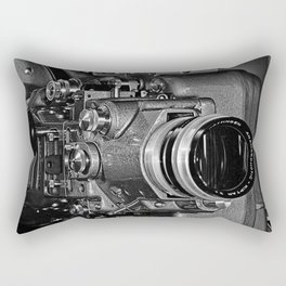 Vintage Bauer Klangfilm Projector - © Doc Braham; All Rights Reserved. Rectangular Pillow