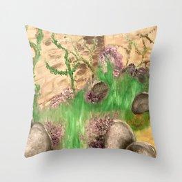 Garden Escape Throw Pillow