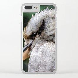 Kookaburra. Clear iPhone Case