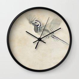 wagtail Wall Clock