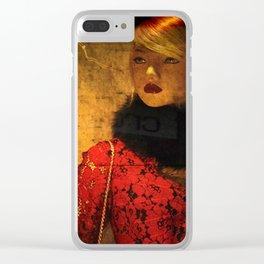 Blonde Clear iPhone Case