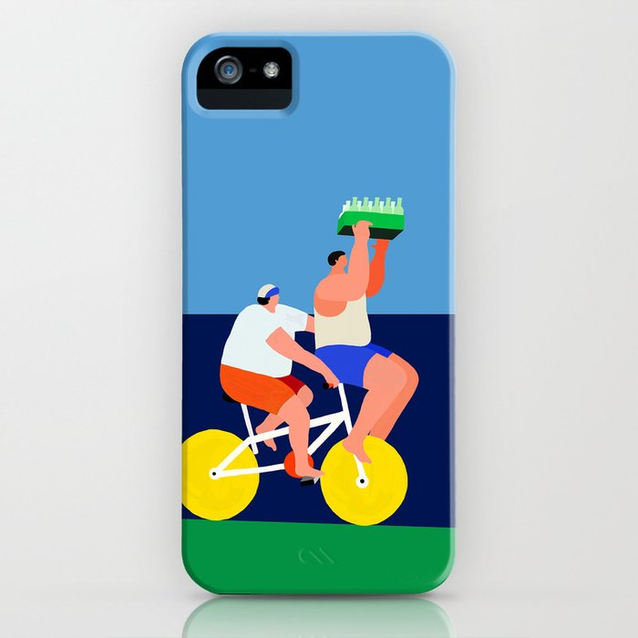 sending beer to you iPhone Case