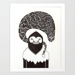 Pocket Monster Art Print