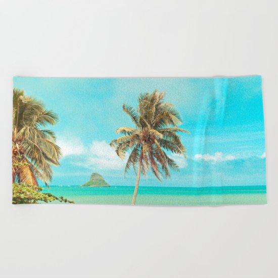 Mokolii Island Beach Towel