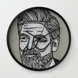 George Clooney Wall Clock