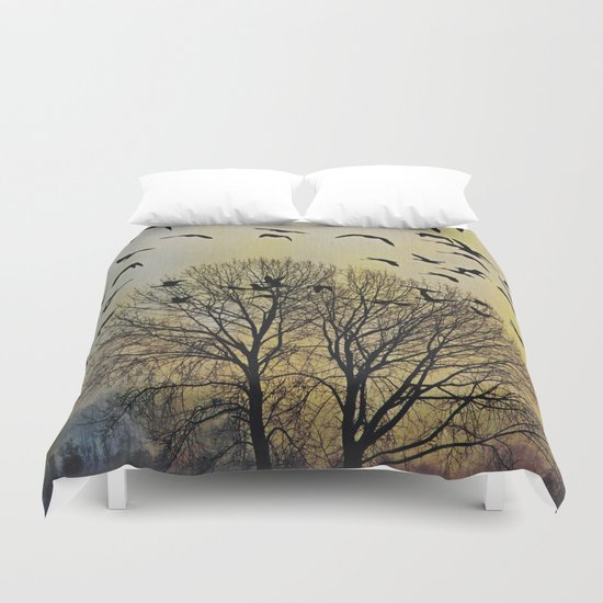 Bird Watching  - JUSTART © Duvet Cover