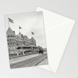 1910 Hotel Mathewson & Coastguard House at Narragansett Pier, Narragansett, Rhode Island Stationery Cards
