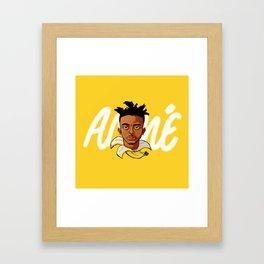 Yellow Banana Framed Art Print