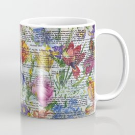 Flowery Prose Coffee Mug