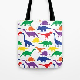 Dinosaurs - White Tote Bag