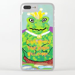 Don't Worry! Your Prince Will Come ... Clear iPhone Case