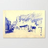 england Canvas Prints featuring England  by Melanie Hopper