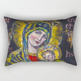 Our Lady of Perpetual Help Rectangular Pillow