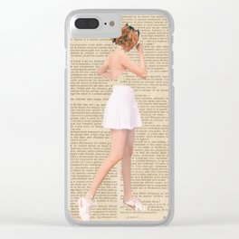 Mon Amour Clear iPhone Case