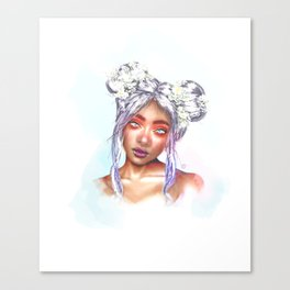 'Persephone' (Goddess Spring) Canvas Print