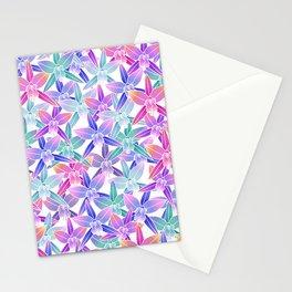 Hawaiian flowers Stationery Cards