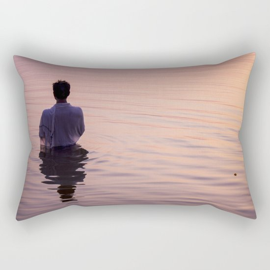 Meditation Time Rectangular Pillow