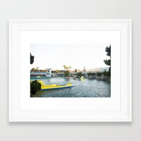 finding nemo Framed Art Prints featuring Finding Nemo Submarine Voyage by Heather Deffense