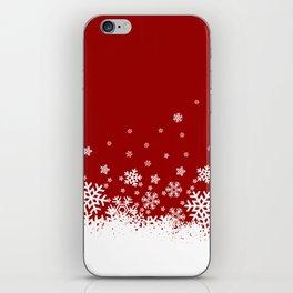 Xmas Snow 02 iPhone Skin