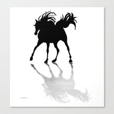 Shadow Dancer painting Canvas Print