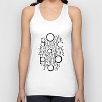 typo Tank Tops featuring typo by Catherine_S